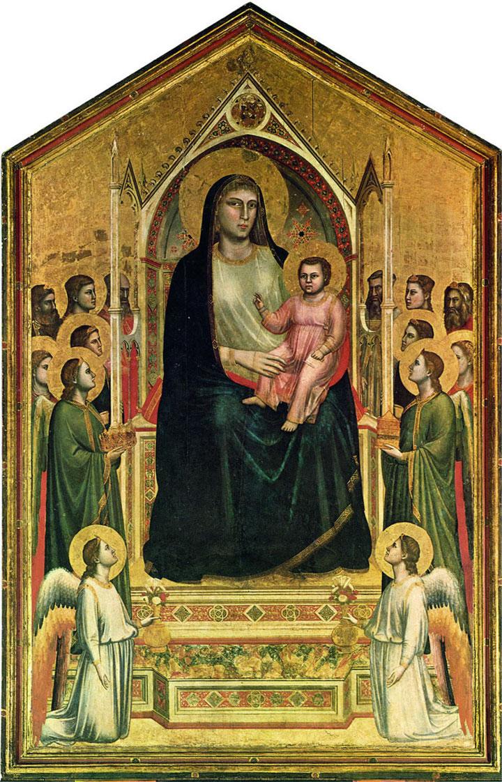 Maestà di Ognissanti - Giotto