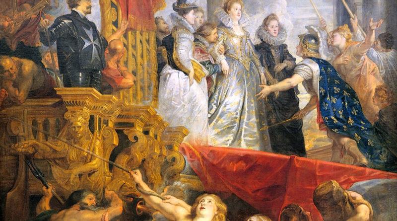 Maria de Medici a Marsiglia - quadro - Rubens