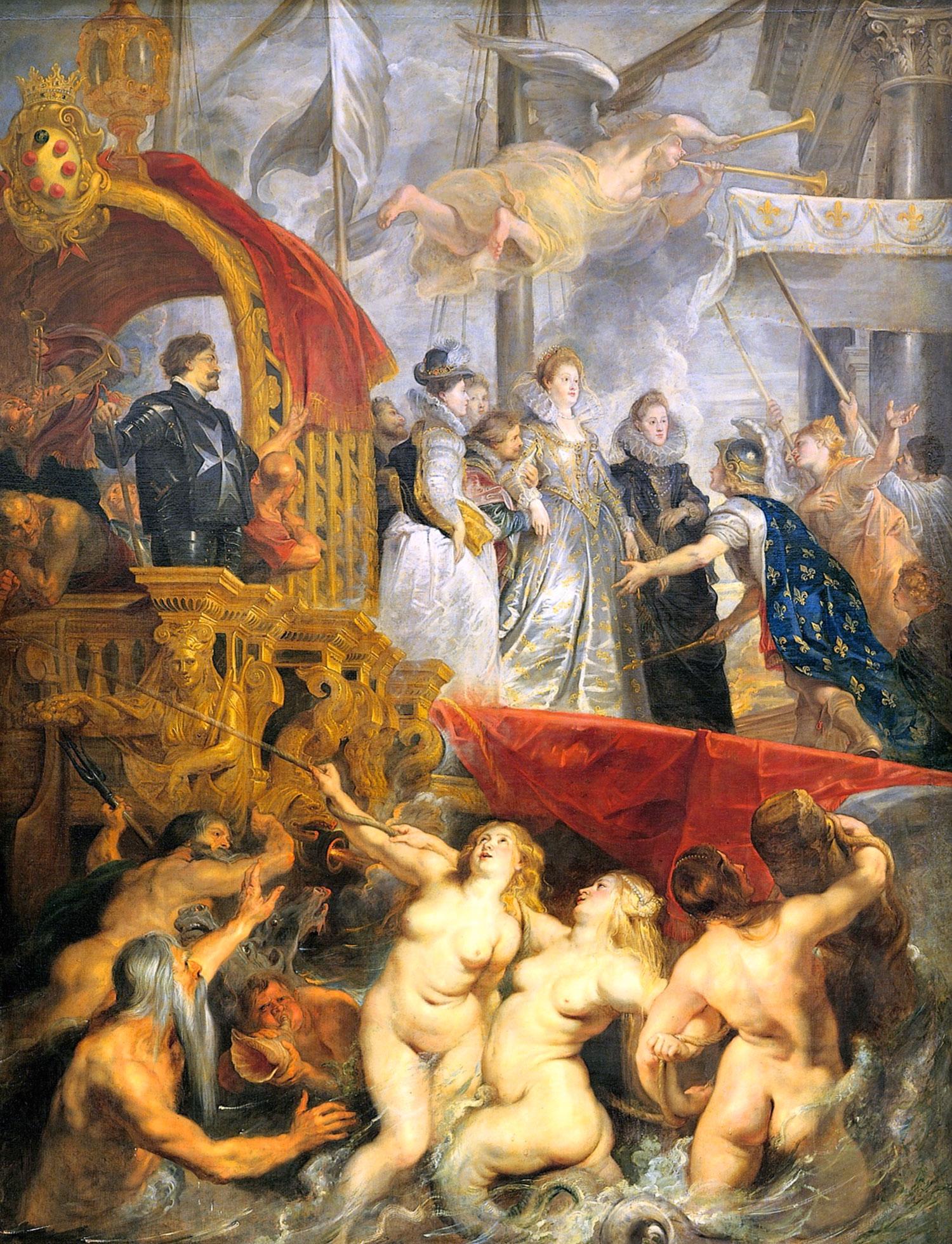 L'Arrivo di Maria de' Medici a Marsiglia (quadro di Rubens)