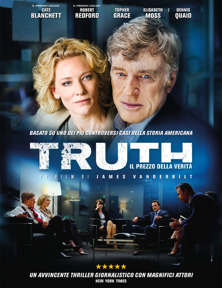 Truth - il prezzo della verità - locandina italiana