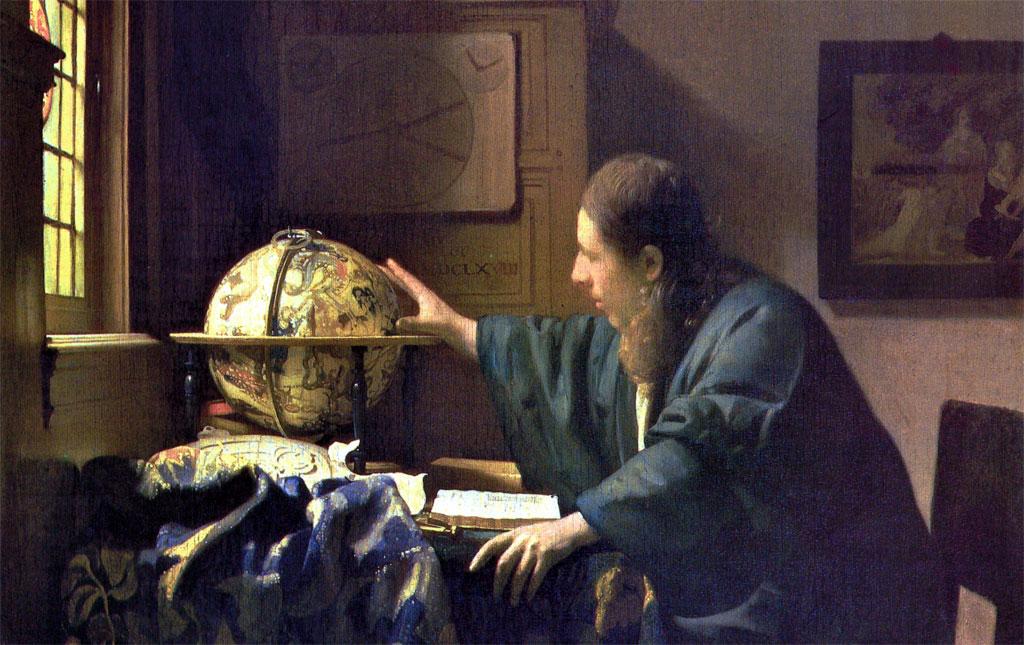Astronomo - Astronomer - Vermeer