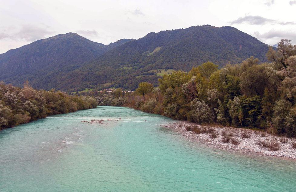I fiumi: il fiume Isonzo