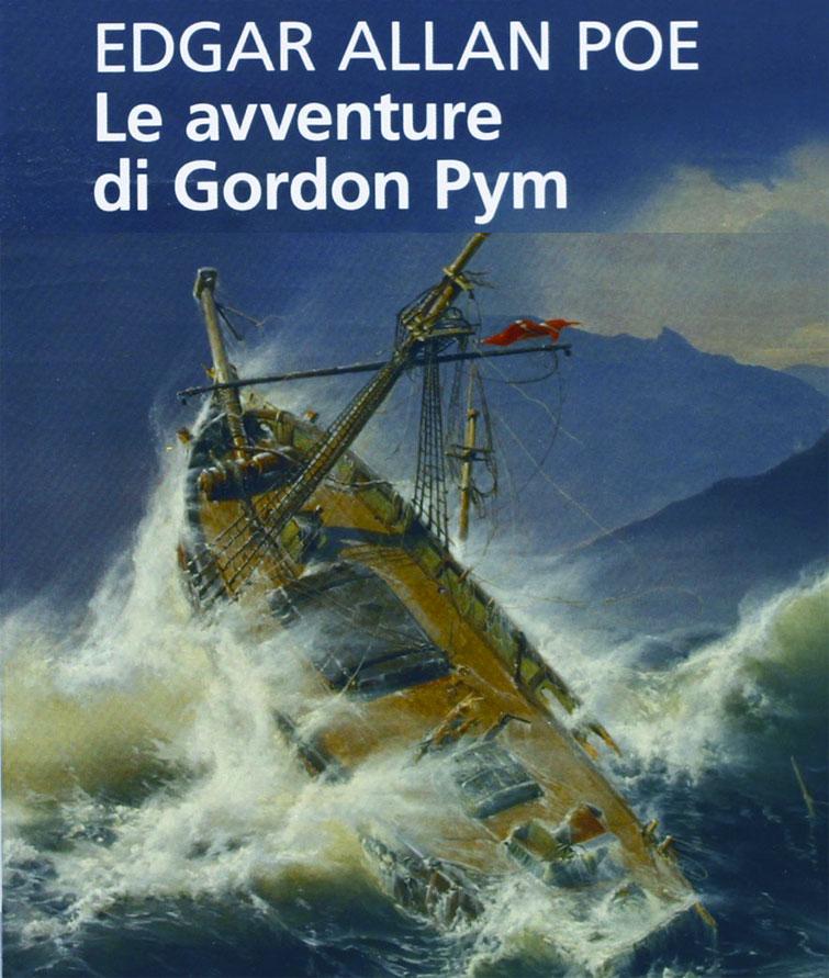 Gordon Pym - Le avventure di Gordon Pym, romanzo di Edgar Allan Poe