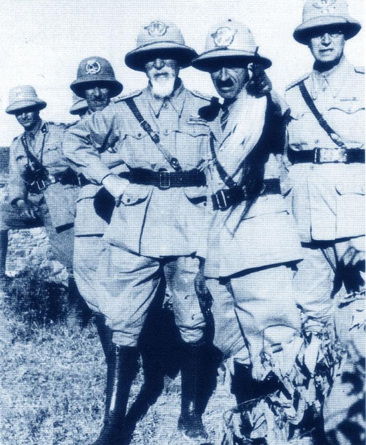 Guerra di Etiopia: Emilio De Bono in Abissinia
