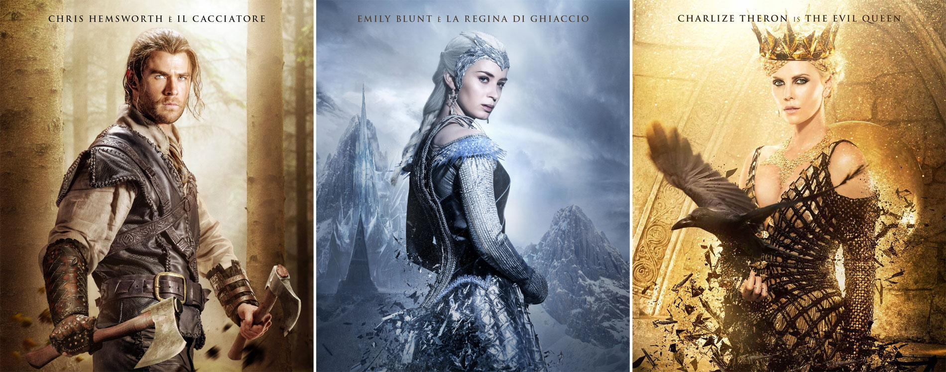 Il cacciatore e la regina di ghiaccio - poster