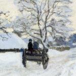 Il calesse di Monet - dettaglio