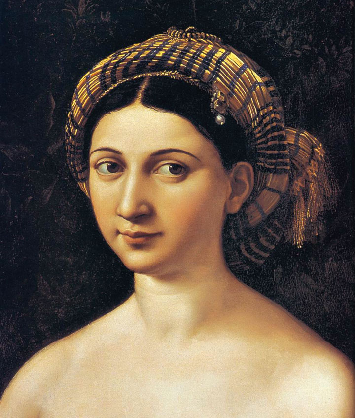 La Fornarina - Raffaello Sanzio