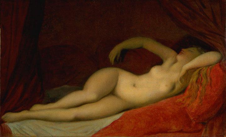 La dormiente di Napoli - Ingres