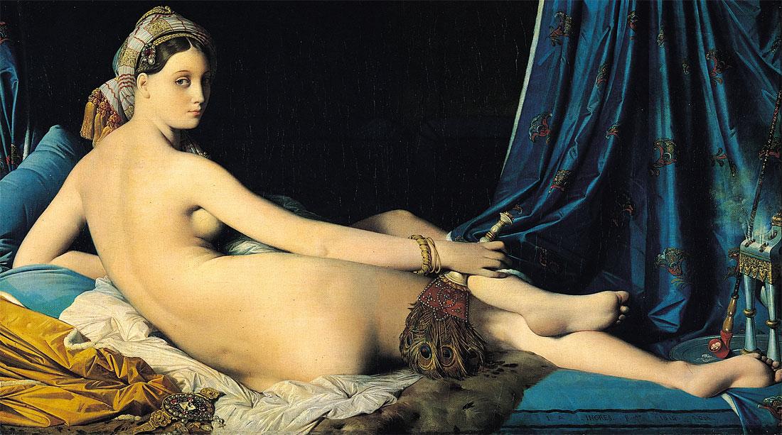 La grande odalisca - La Grande Odalisque - Ingres