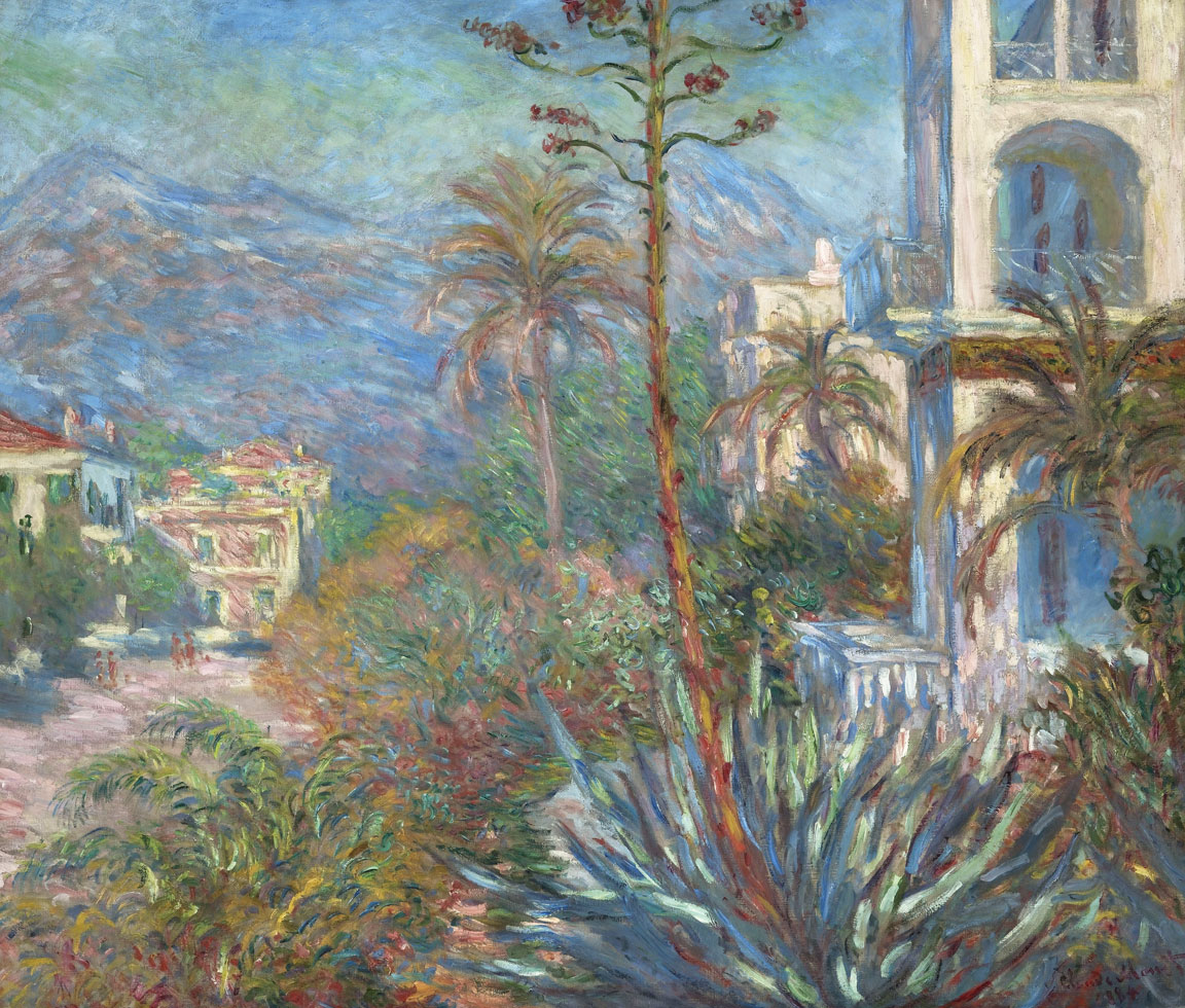 Le Ville a Bordighera (Monet)
