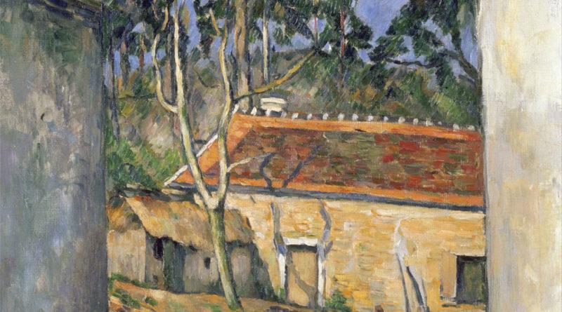 Cortile di fattoria - Cour de ferme - Paul Cezanne