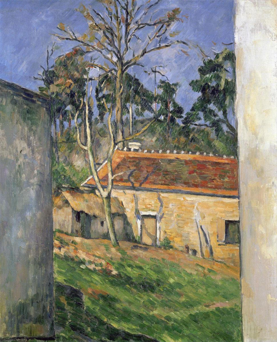 Cortile di fattoria - Cour de ferme - Paul Cézanne