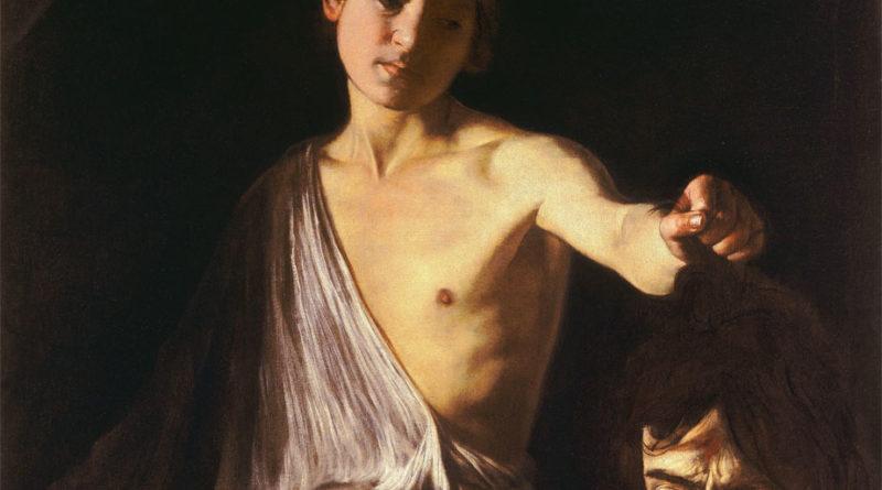 Davide con la testa di Golia - Caravaggio