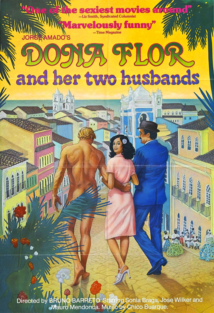 Dona Flor e i suoi due mariti - poster film locandina
