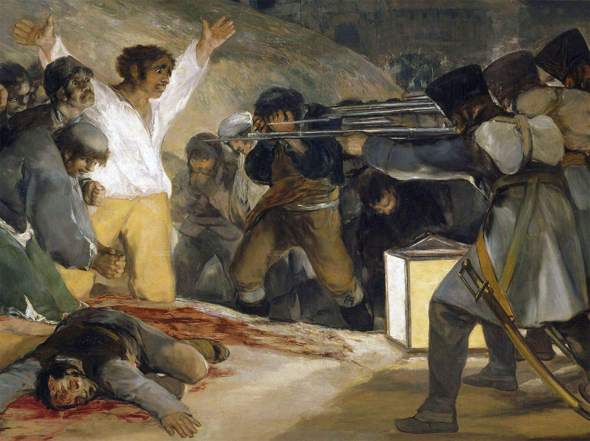 Goya - 3 maggio 1808 - dettaglio - detail