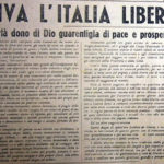 """La libertà di stampa dopo il fascismo: il giornale""""La Vita del Popolo"""" (Treviso, 30 aprile 1945)"""