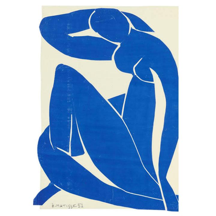 Matisse - Nudo blu