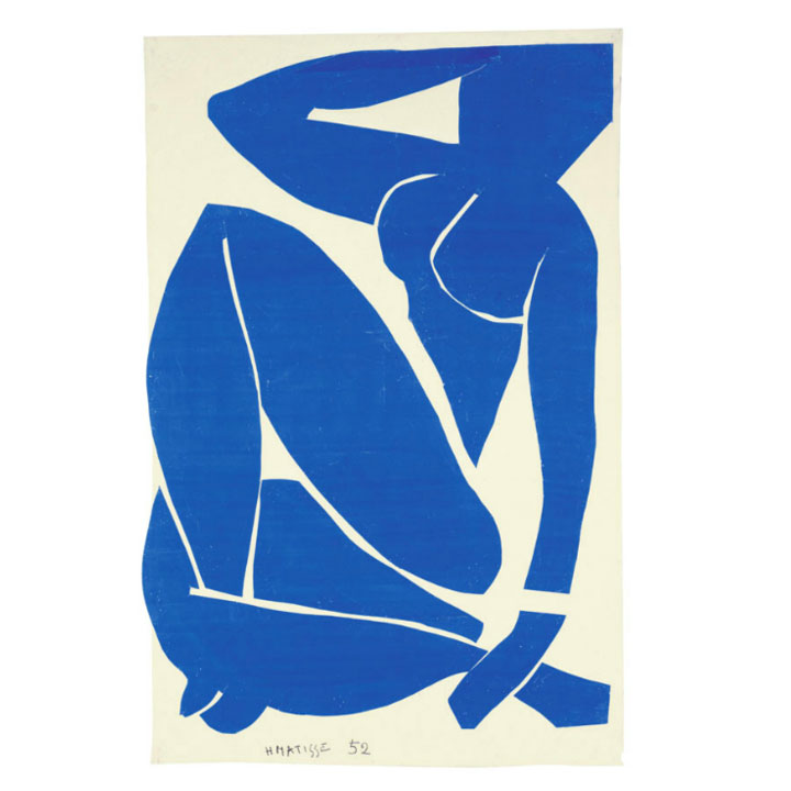 Matisse - Nudo blu - 2