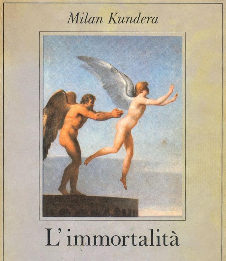Milan Kundera - L'immortalità - libro