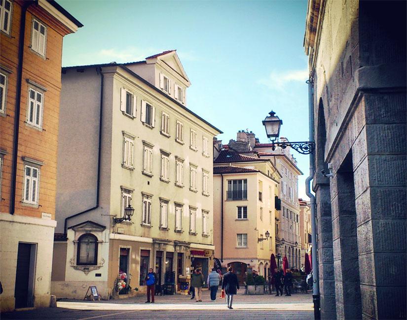 Una foto di Trieste