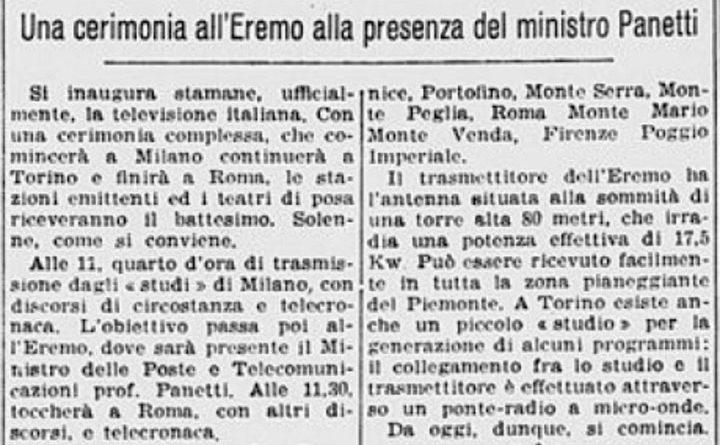 3 gennaio 1954 - La Stampa