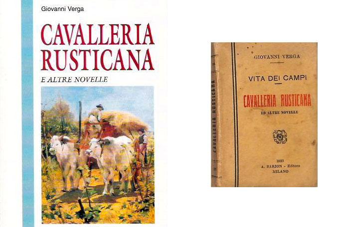 Cavalleria rusticana - Novella - Giovanni Verga - libro - riassunto