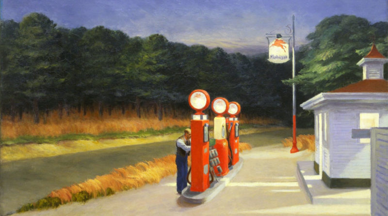 Gas - Hopper - Quadro - Picture