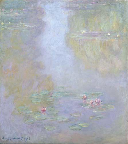 Monet - Ninfee - 1908