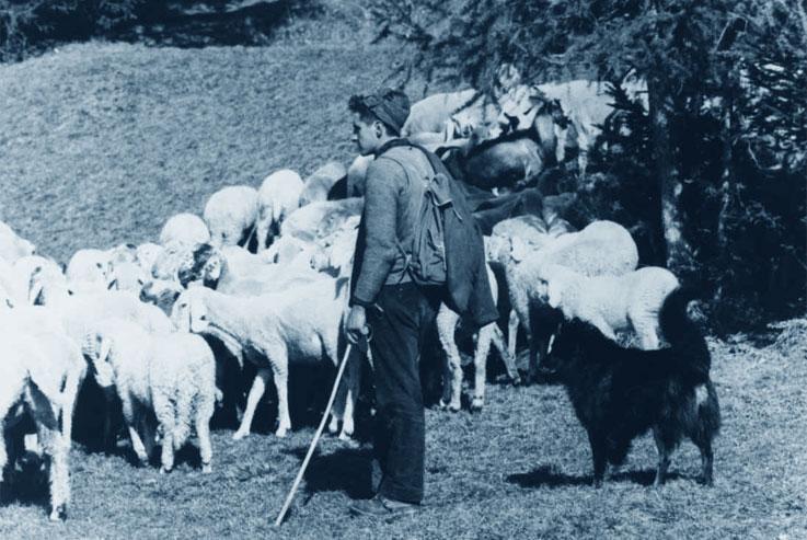 I Pastori - foto antica