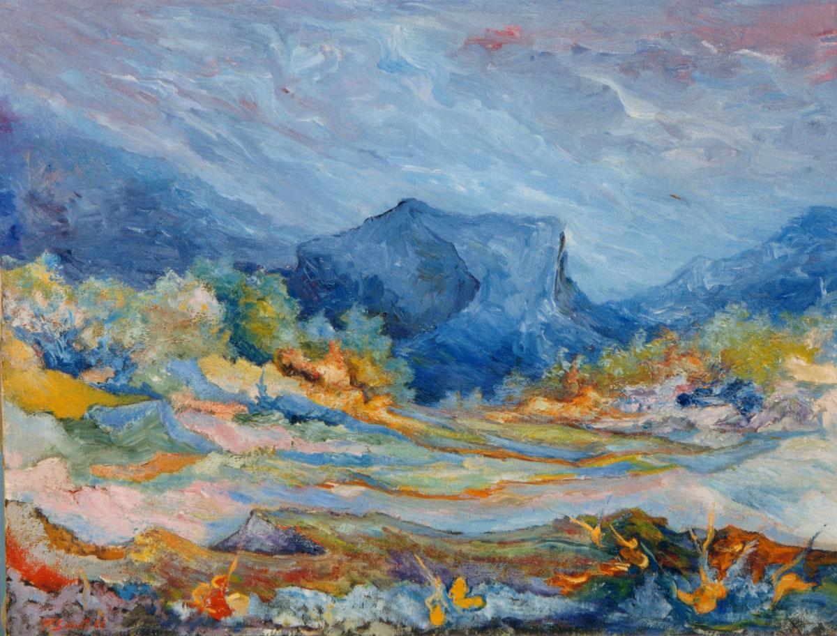 Pietra Blu, 1974