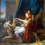 Saffo e Faone - quadro - Sappho and Phaon - picture