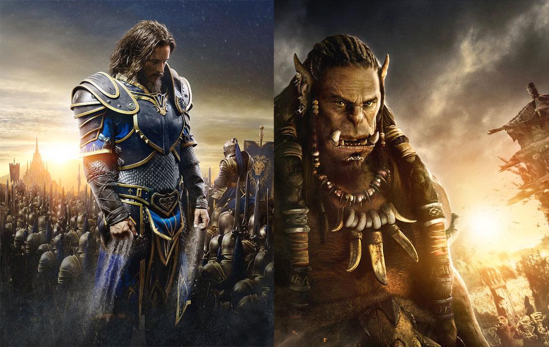 Warcraft - L'inizio –Le immagini dei protagonisti dei film:Anduin Lothar e l'orco Durotan