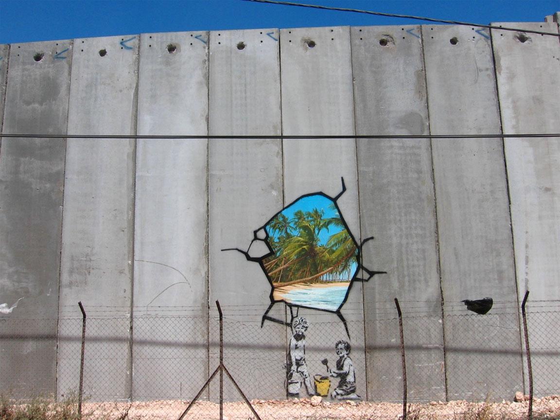 Banksy - Israele