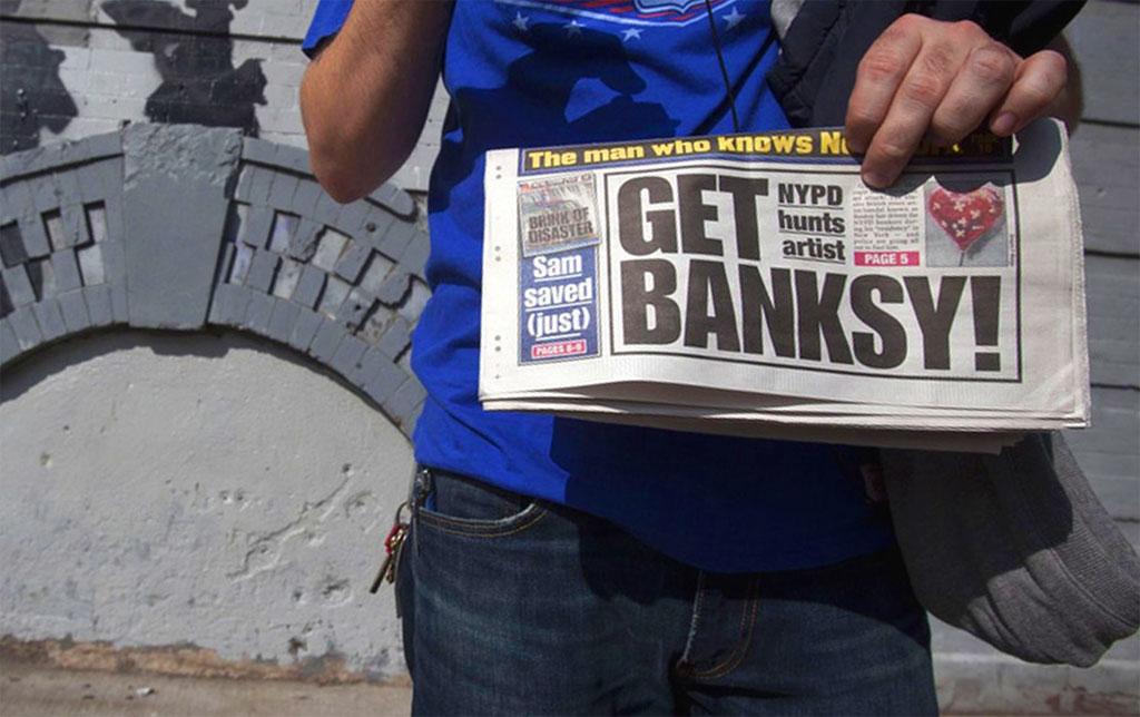 Banksy negli USA