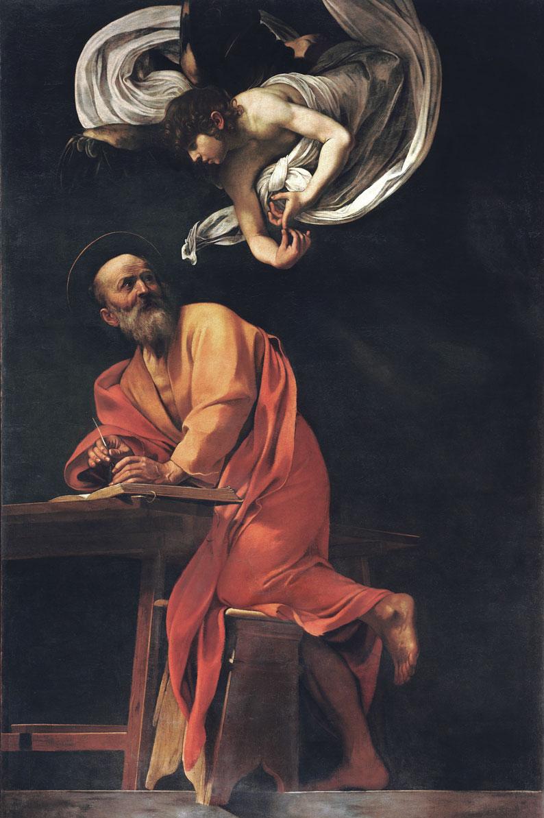 San Matteo e l'angelo - Caravaggio