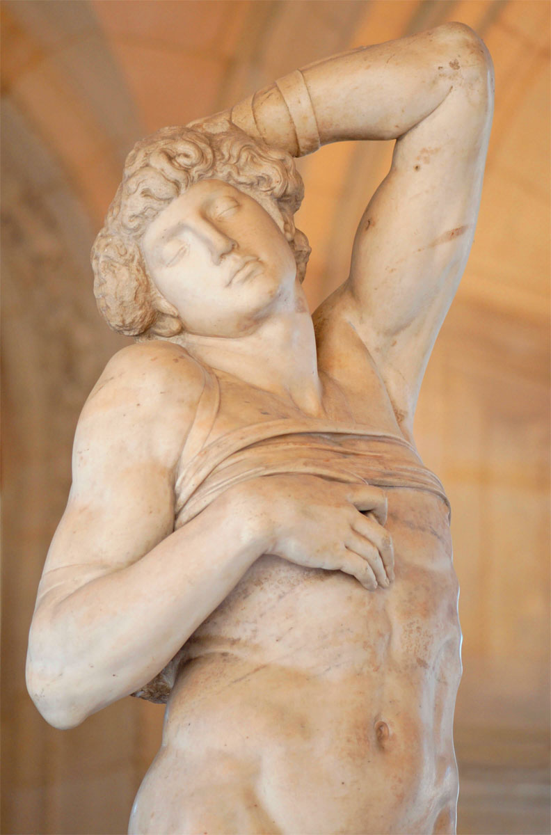 Schiavo morente - dettaglio - Dying slave detail - Michelangelo