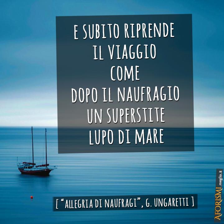 Allegria Di Naufragi Analisi Della Poesia Ungaretti