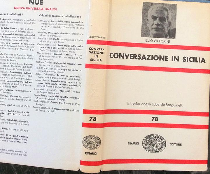 Conversazione in Sicilia - riassunto - libro
