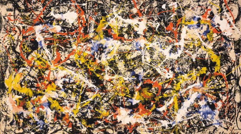 Convergence - Pollock - Convergenza - Jackson Pollock - 1952