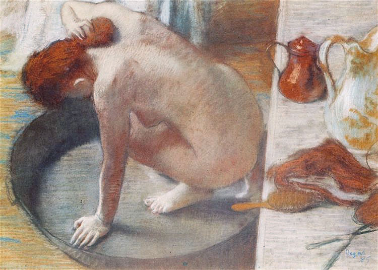 Degas - Le tub - La tinozza - 1886