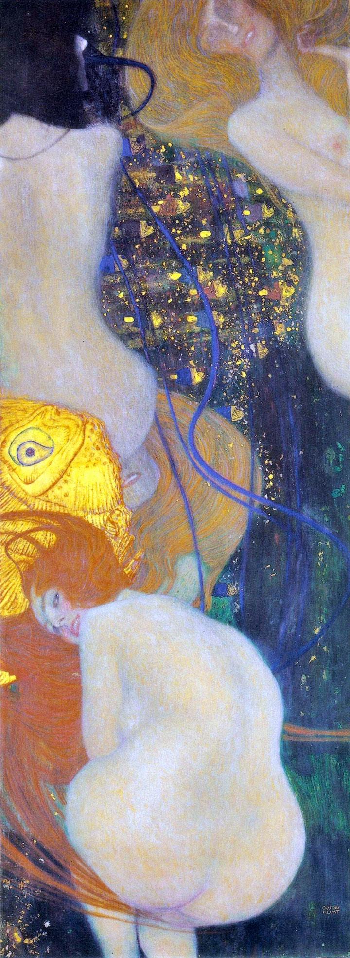 Pesci d'oro (Goldfish) Klimt, 1902