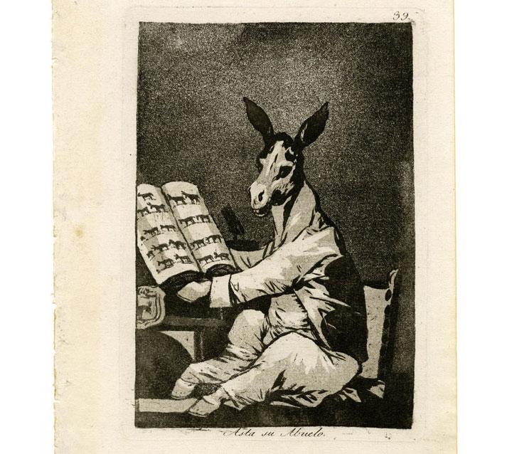Hasta su abuelo - Anche il nonno - Capricci 39 - Goya