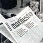 fogli della contestazione: Il Manifesto - giornale