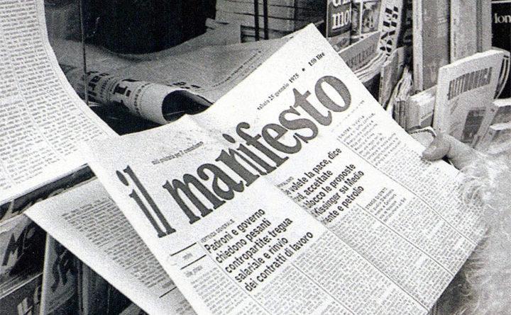 Il Manifesto - giornale