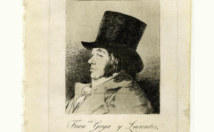 Los Caprichos - Goya - Autoritratto