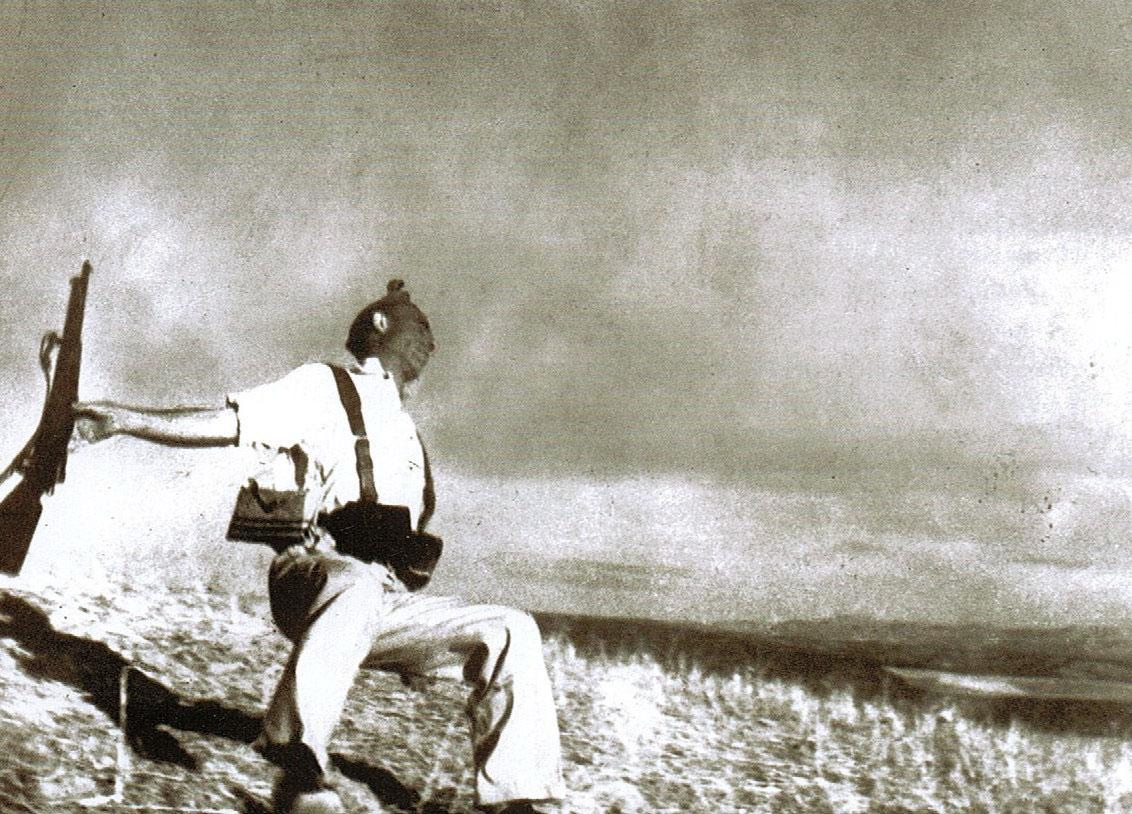 Morte di un miliziano lealista Cordoba Settembre 1936 - foto famosa di Robertt Capa
