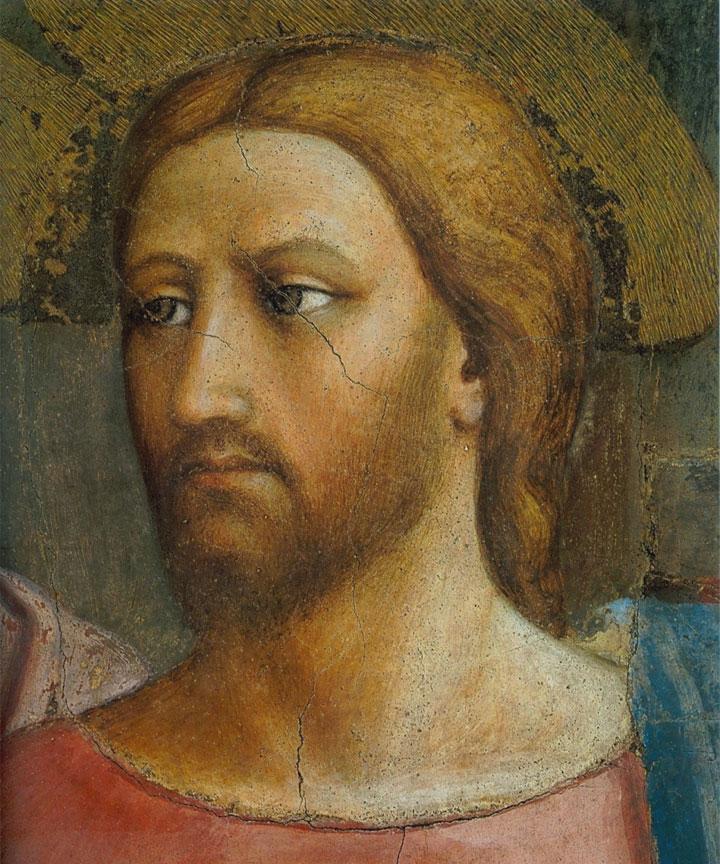 Il volto di Gesù nel dettaglio