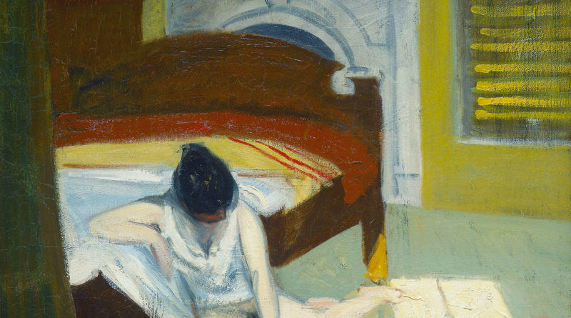 Summer Interior - Edward Hopper - 1909