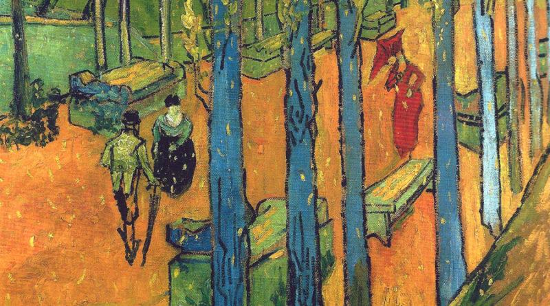 Alyscamps - Campi elisi - Van Gogh - versione 3