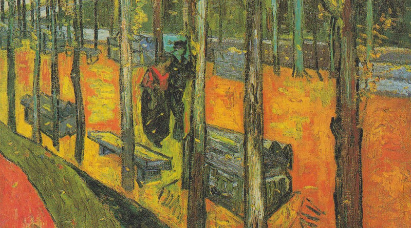 Alyscamps - Campi elisi - Van Gogh - versione 4